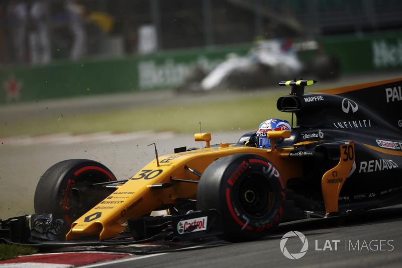 Ausritt: Jolyon Palmer, Renault Sport F1 Team RS17