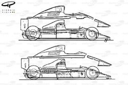 Ferrari Fa1-90B (641/2) 1990 года, сравнение с моделью 641