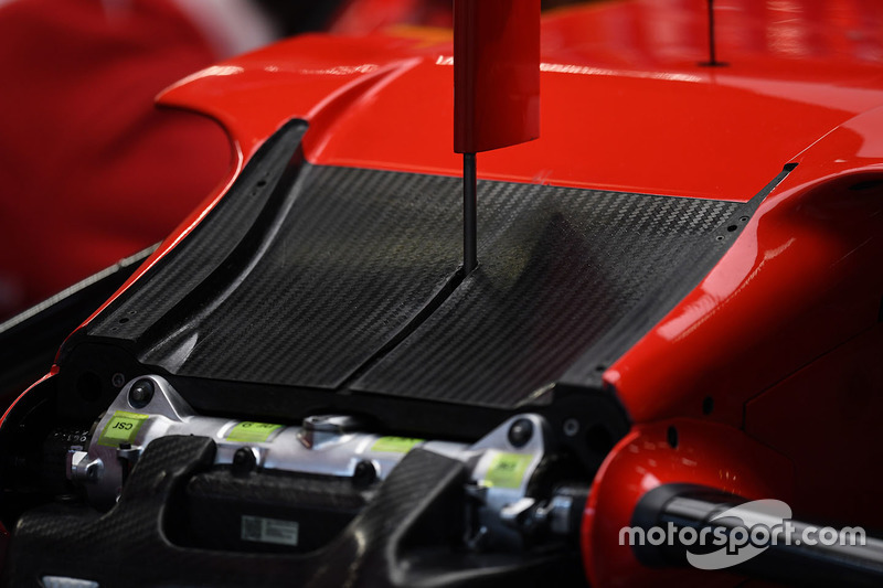 Ferrari SF70H chassis detail