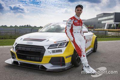 Annuncio Marco Melandri all'Audi Sport TT Cup