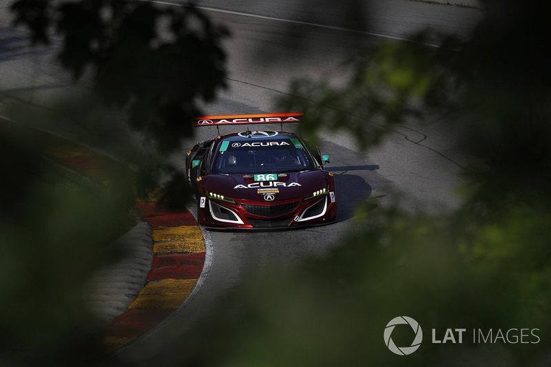 #86 Michael Shank Racing Acura NSX: Освальдо Негрі мл., Джефф Сігал