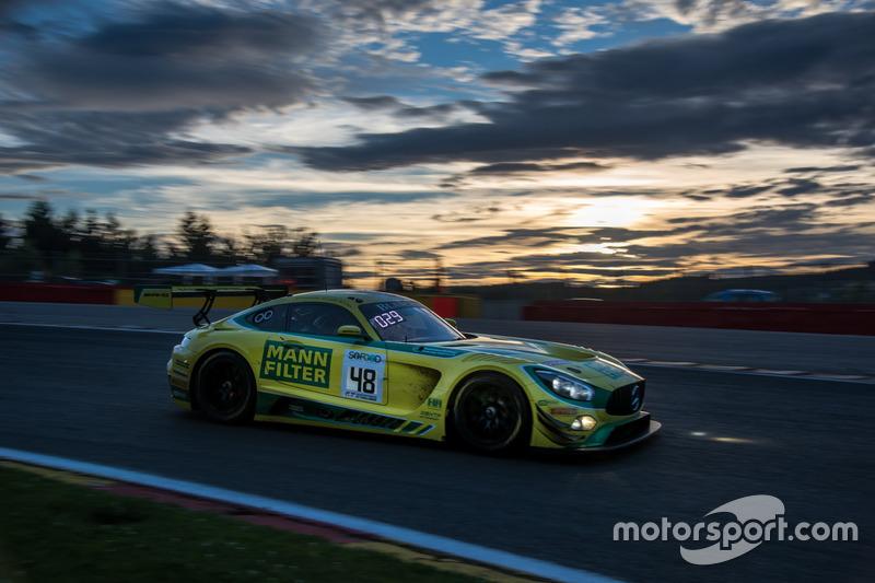 #48 MANN-FILTER Team HTP Motorsport Mercedes-AMG GT3: Кеннет Хаєр, Інді Донтьє, Патрік Азенхаймер