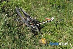 Велосипед Ники Хейдена после аварии