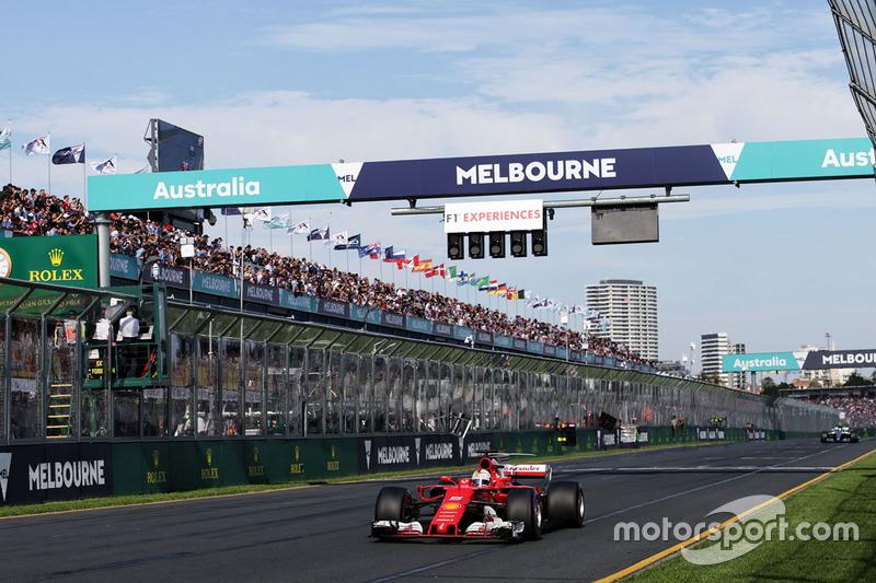 Ferrari, el segundo equipo con más vueltas lideradas en el GP de Australia