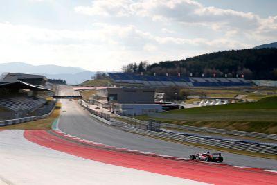 Formel-3-Test in Spielberg