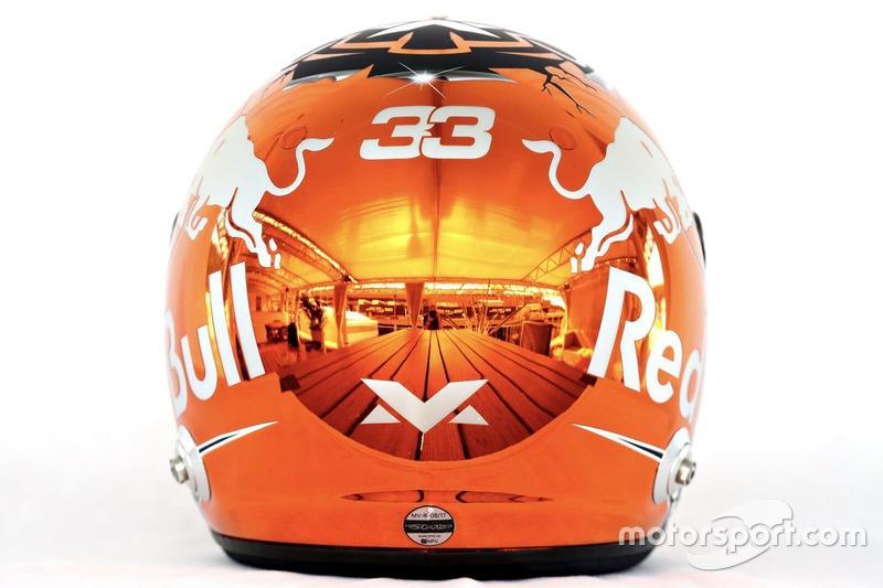 Max Verstappen, Red Bull Racing capacete Spa