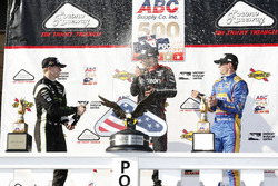 Podium: winner Will Power, Team Penske Chevrolet, second place Josef Newgarden, Team Penske Chevrolet, third place Alexander Rossi, Curb Herta - Andretti Autosport Honda
