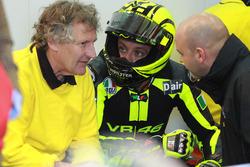 Valentino Rossi, Ducati Team, mit Crewchief Jeremy Burgess