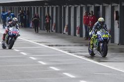 Valentino Rossi, Yamaha Factory Racing and Jorge Lorenzo, Yamaha Factory Racing