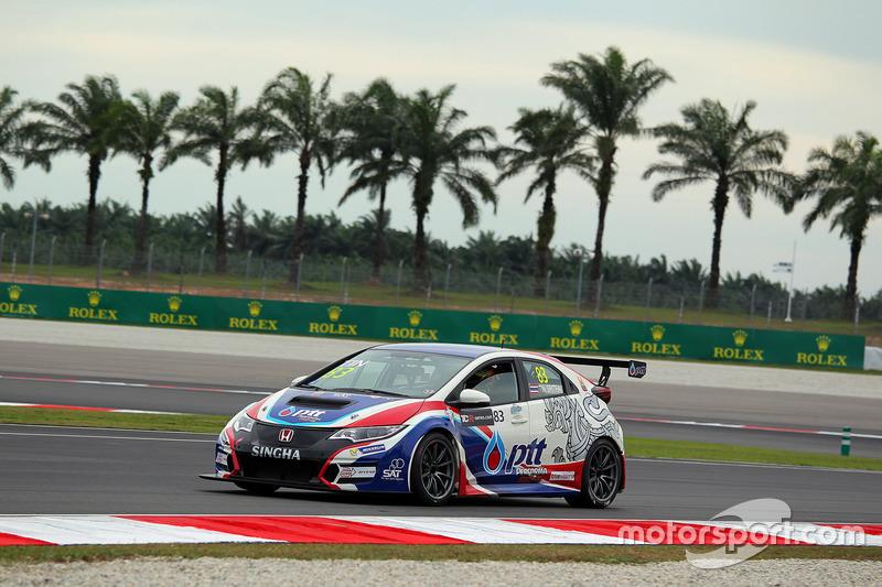 Tin Sritrai, Team Thailand, Honda Civic TCR