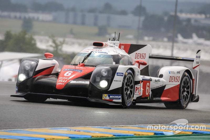 1. LMP1: #6 Toyota Racing, Toyota TS050 Hybrid