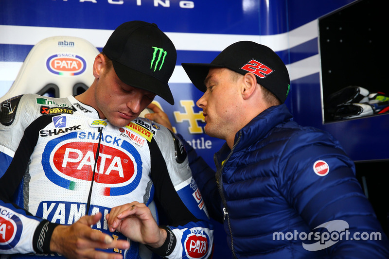 Alex Lowes, Pata Yamaha Official WorldSBK Team, und Bruder Sam Lowes