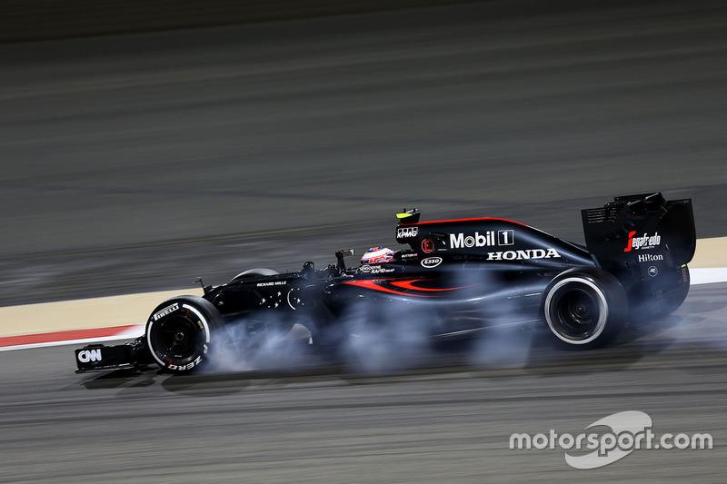 Verbremser von Jenson Button, McLaren MP4-31