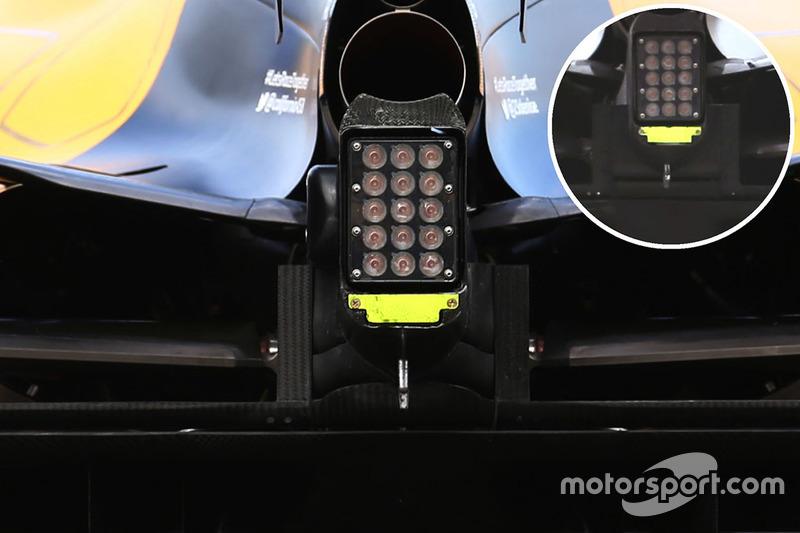Задній ліхтар Renault Sport F1 Team RS16