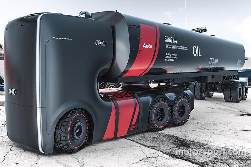 Designstudie: Truck der Zukunft