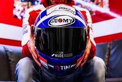 Nuevo casco de Andrea Dovizioso, Ducati Team