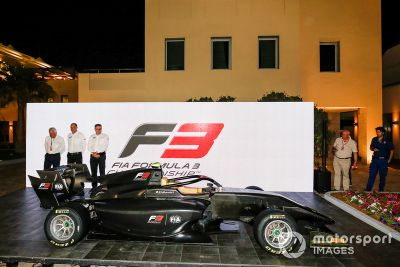 FIA F3 2019 car unveil