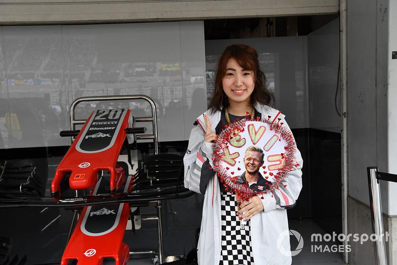 Fan de Kevin Magnussen, Haas F1 Team