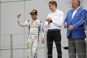 Podium: second place Sergio Sette Camara, Carlin