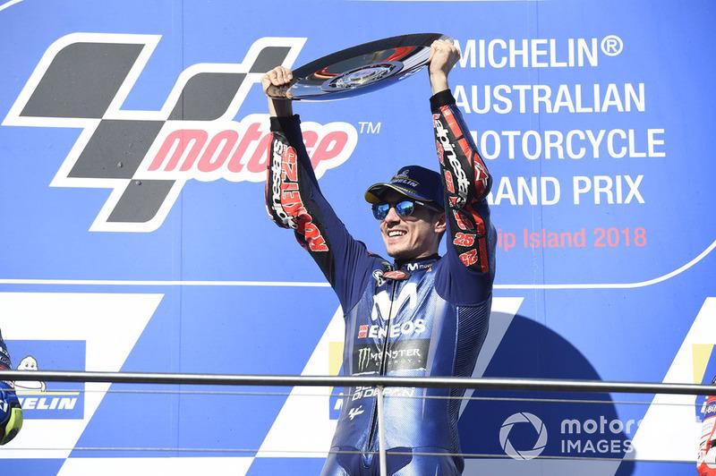 MotoGP Australia: Maverick Vinales, Yamaha Factory Racing