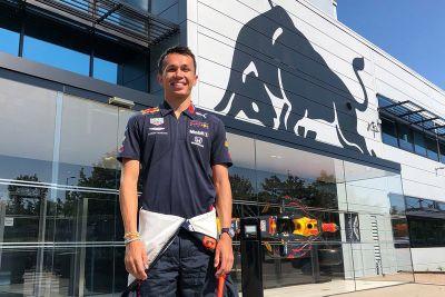 Alex Albon Red Bull Racing aankondiging