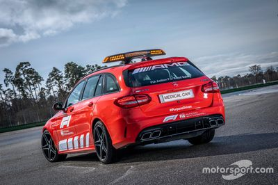 Mercedes AMG Safety Car and Medical Car unveil