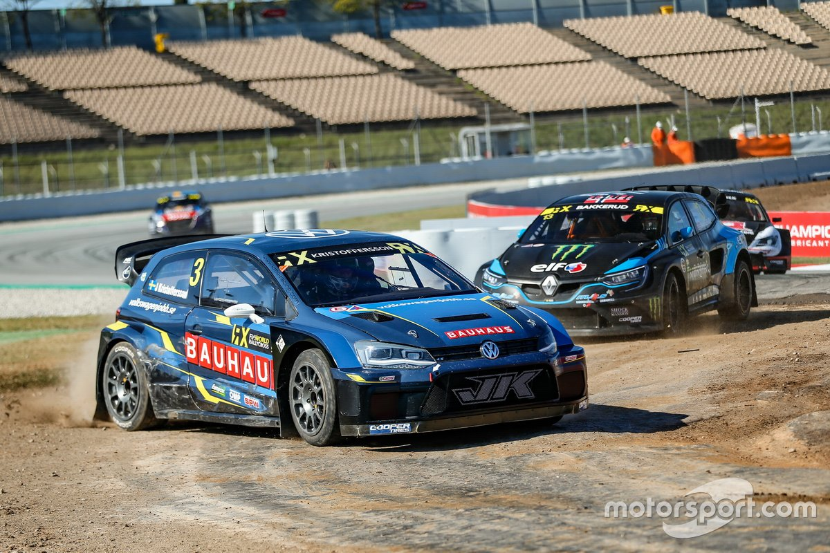 Johan Kristoffersson, Kristoffersson Motorsport, Andreas Bakkerud, Monster Energy GCK RX Cartel
