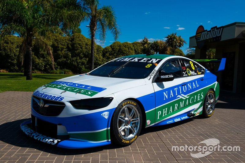 Brad Jones Racing: Ник Перкат, Holden Commodore ZB №8