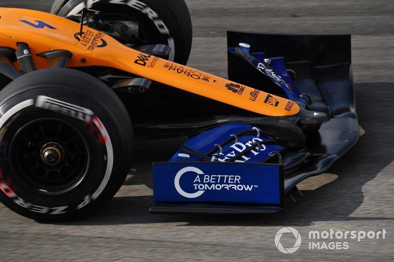 Переднє антикрило McLaren MCL34