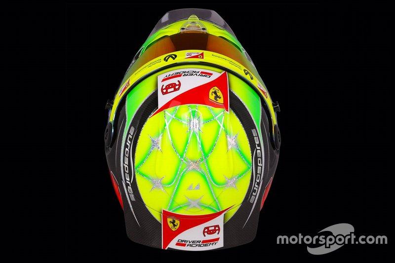 Il casco di Mick Schumacher, Prema Racing
