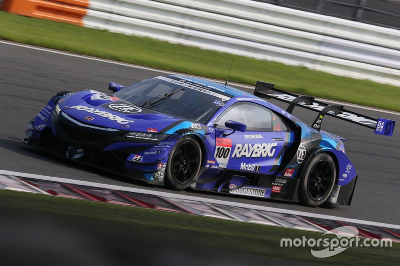 #100 RAYBRIG NSX-GT, Jenson Button, Naoki Yamamoto