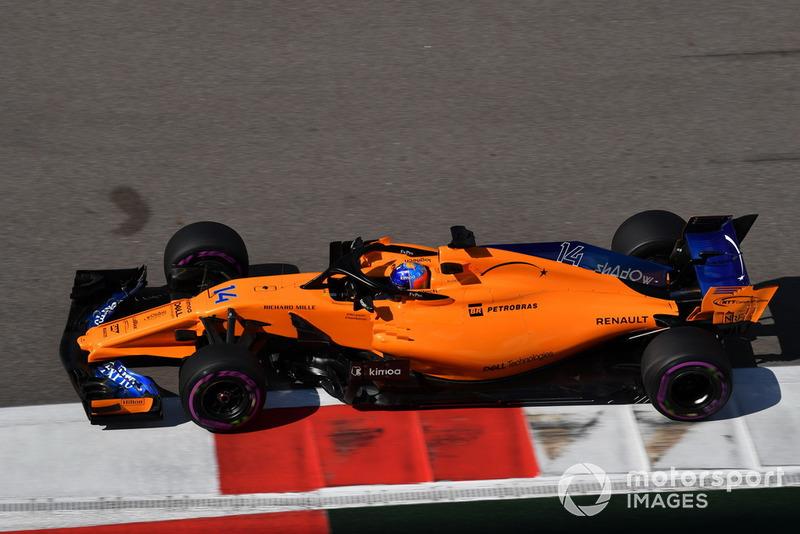 16: Fernando Alonso, McLaren MCL33, 1'35.504