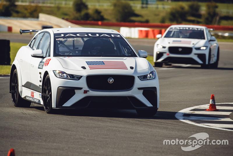 Jaguar I-PACE eTROPHY Silverstone testing