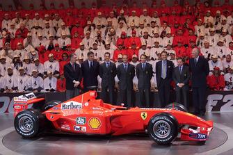 Maranello 2001-presentazione ferrari