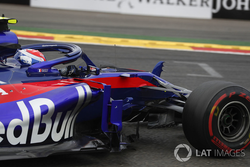 Gasly, F1'de ilk kez iki yarış arka arkaya puan aldı