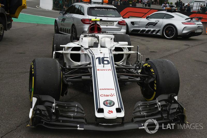18 місце — Шарль Леклер, Sauber — 13
