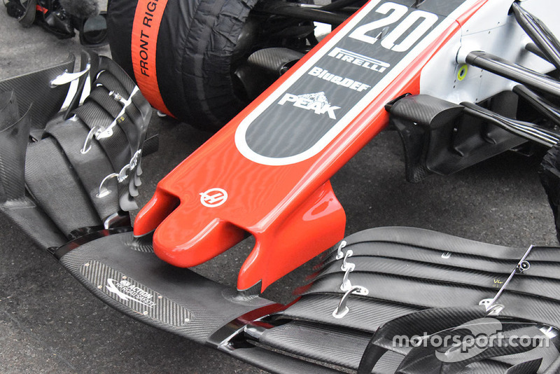 Haas F1 Team VF-18 front wing