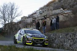Michele Tassone e Alice De Marco Peugeot 208 T16 R5, P.A. Racing