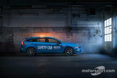 Презентация машины безопасности WTCC 2016 года Volvo V60 Polestar