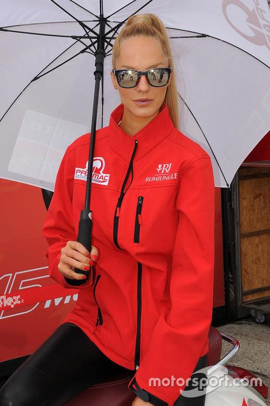 Gridgirl von Pramac Racing
