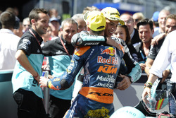 Joan Mir, Leopard Racing, KTM, et Brad Binder, Red Bull KTM Ajo, KTM