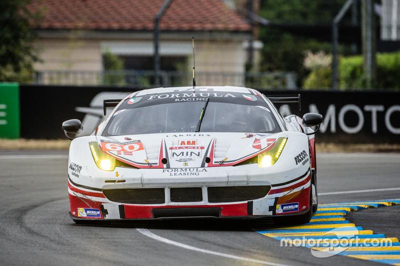 47: #60 Formula Racing Ferrari 458 Italia: Christina Nielsen, Mikkel Mac, Johnny Laursen