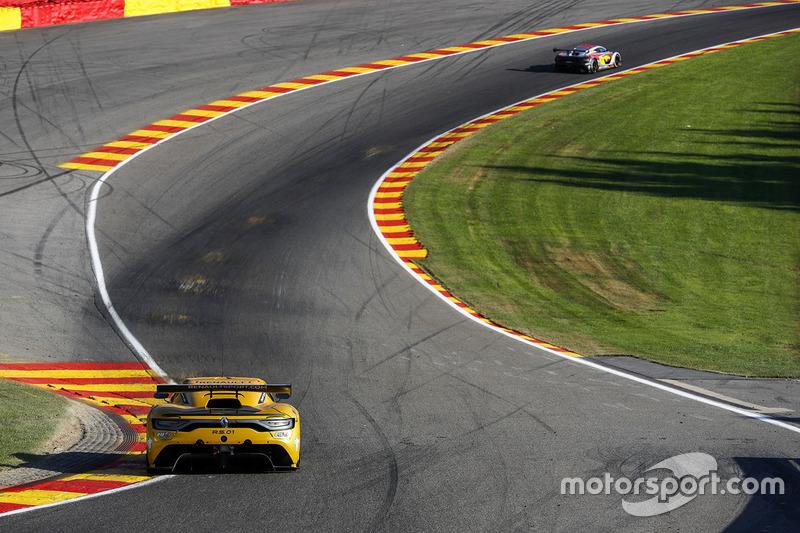 #16 Team Duqueine, Renault RS01: Robert Kubica, Christophe Hamon