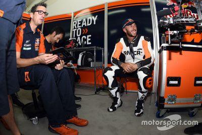 KTM-Test in Valencia, Oktober