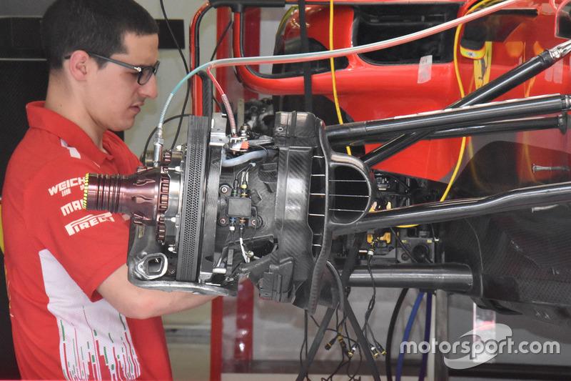 Ferrari SF71H fren detay