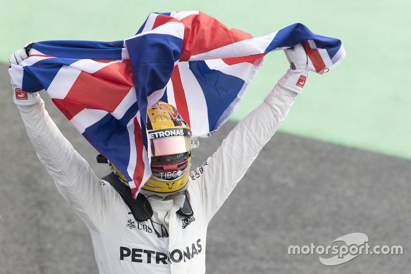 Lewis Hamilton, Mercedes AMG F1 campeón del mundo 2017