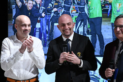 Armando Donazzan, Orange1 Racing owner Giorgio Sanna, Head of Lamborghini Squadra Corse, and Franco Nugnes, Motorsport.com Italia editor-in-chief