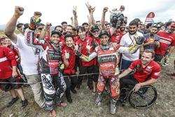 #47 Monster Energy Honda Team: Kevin Benavides, #68 Monster Energy Honda Team Honda: José Ignacio Cornejo Florimo