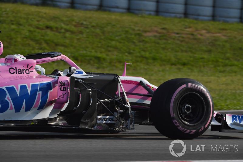 Nicholas Latifi, aero sensörlü Force India VJM11