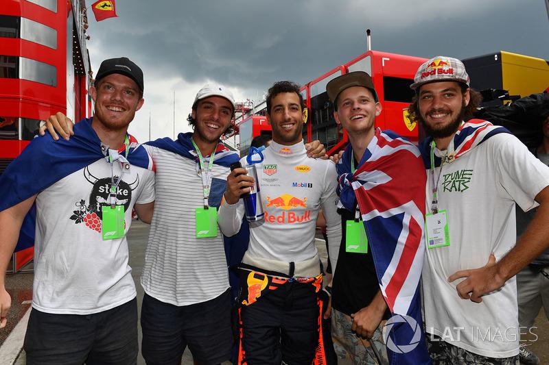 Даниэль Риккардо, Red Bull Racing и болельщики
